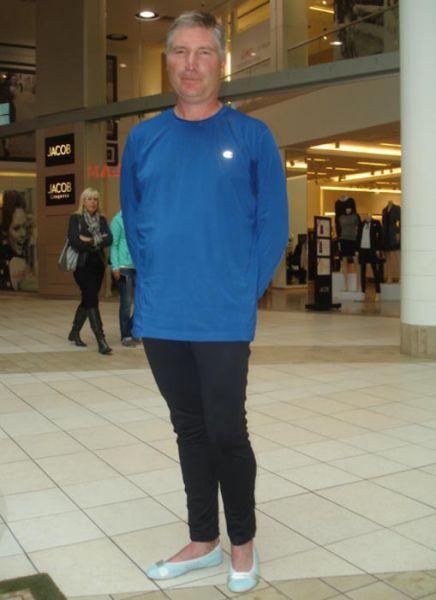 A Man Who Wears Ballet Flats in Public