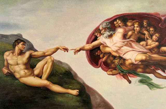 Photo Remakes of Famous Paintings