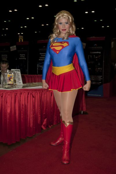 Most Attractive Geeky Girls in Costume from 2011