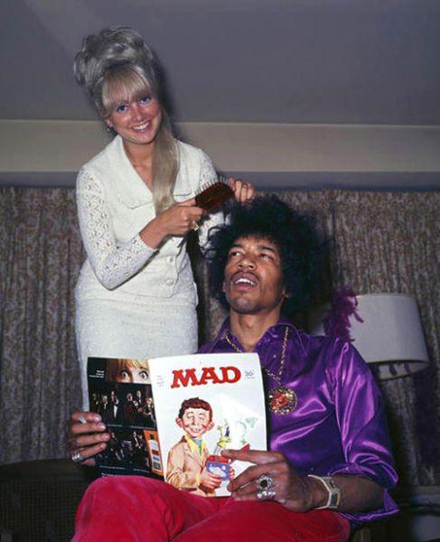 Rare Photographs of Celebrities. Part 19