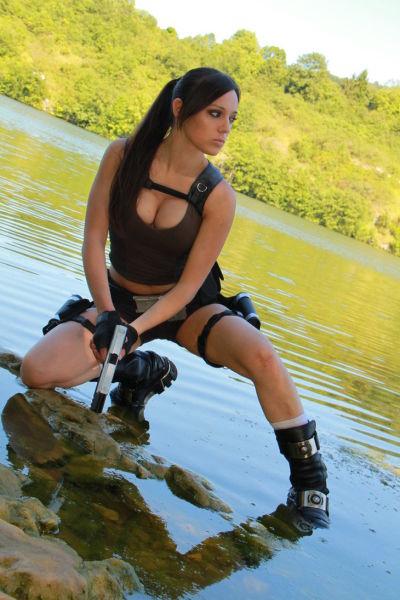 Lara Croft IRL