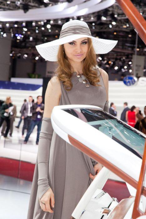 Geneva Motor Show Beauties. Part 2