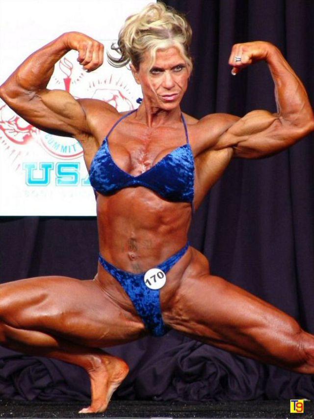 Michelle Brent's Impressive Muscles