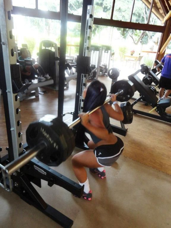 Chicks Working Out