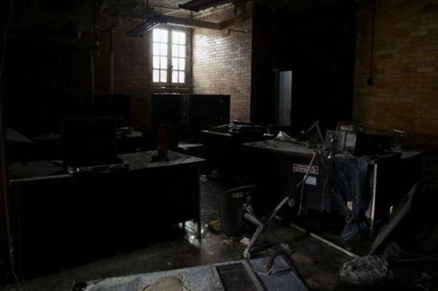 Derelict Police Station
