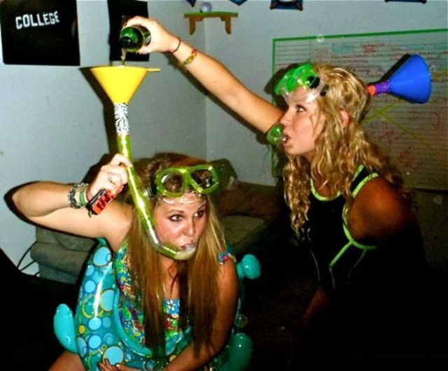 The Friday Madness of Getting Wasted