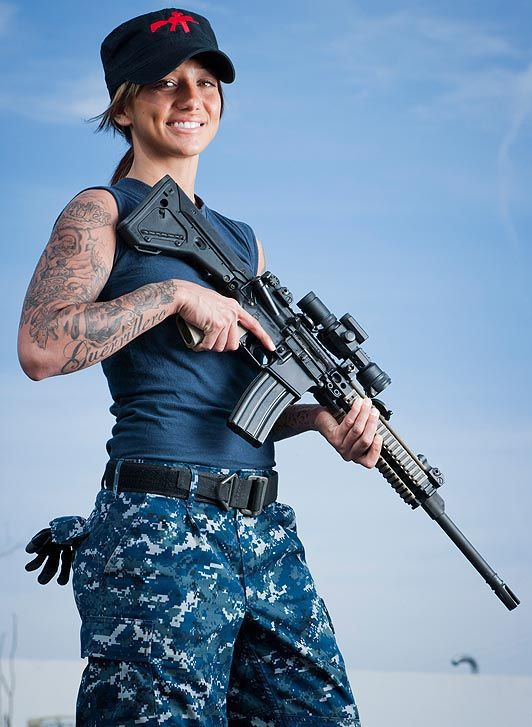 This Girl Would Be Much Better Than Rihanna for the Battleship Movie
