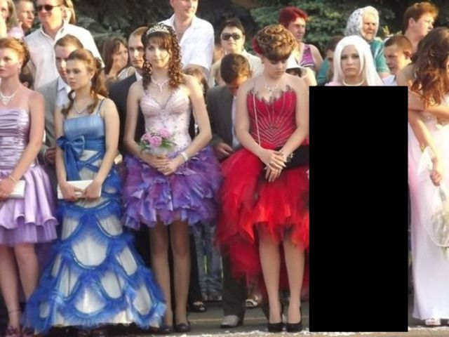 Another Prom Dress in the Russian Style