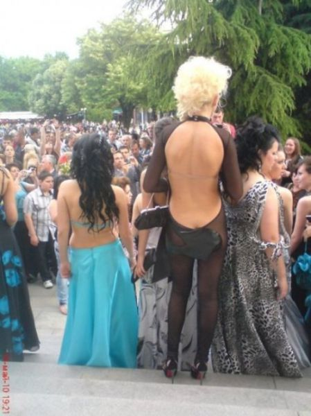 Bulgarian Prom Day Gone Wild