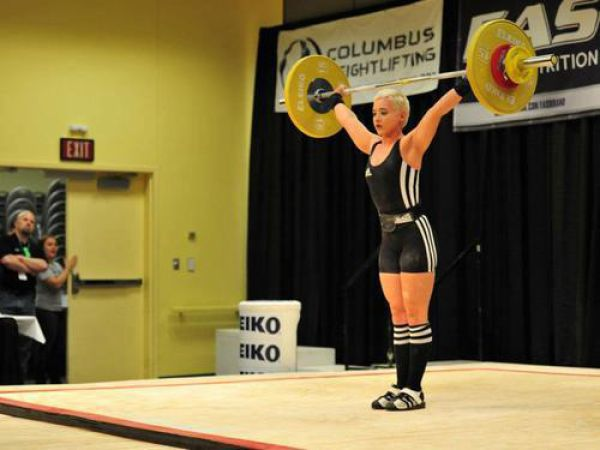 This Female Weightlifter Is Friggin' Adorable