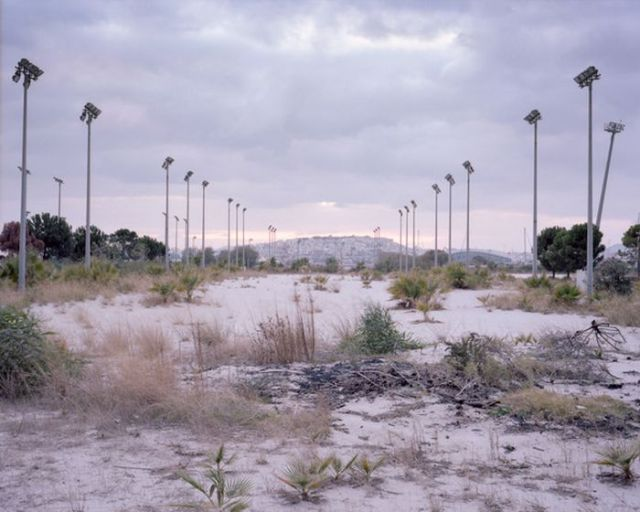 Abandoned Olympic Sports Complex in Athens