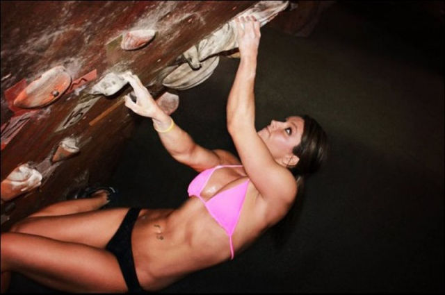 Girls and Rock Climbing Equals Good Time