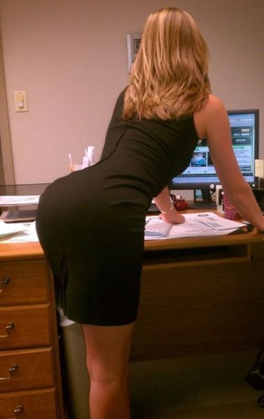 Oh My, Those Tight Dresses. Part 7
