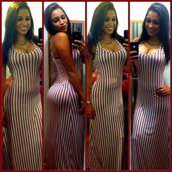 Oh My, Those Tight Dresses. Part 8