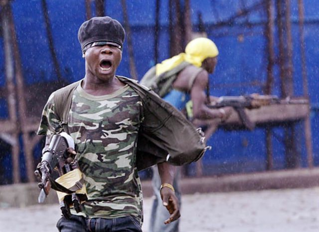 A Frightening Portrayal of African Fighters