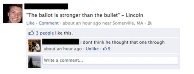 Facebook Fails and Wins. Part 2