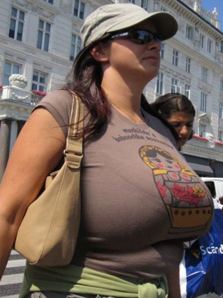"""Sometimes """"Less Is More"""" With Breasts"""