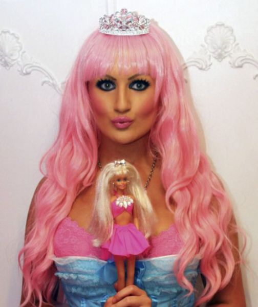 The Real Life Barbie with Two Degrees