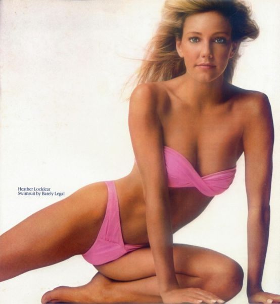 Eye-popping 80's Cleavage