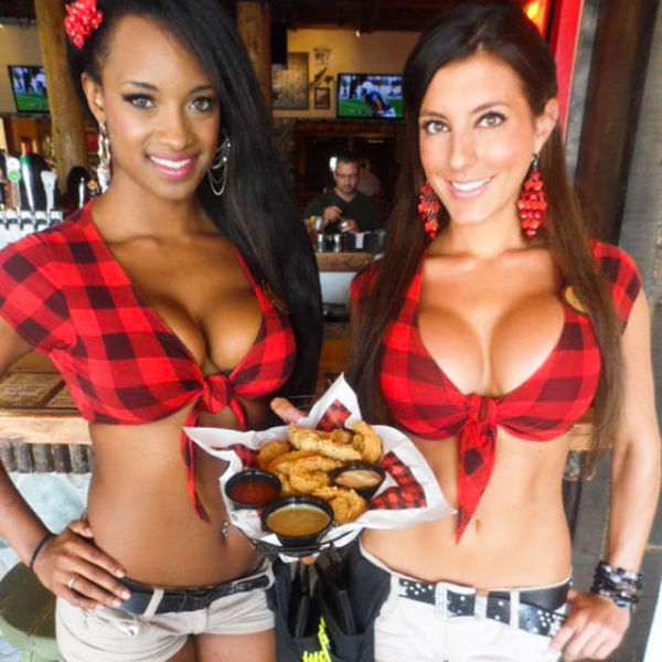 The Busty Waitrons of Twin Peaks Restaurants