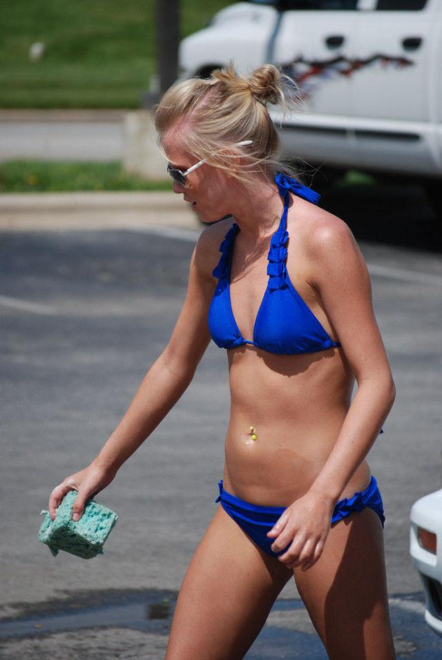 Ideal Cheerleader Car Wash Nude Images