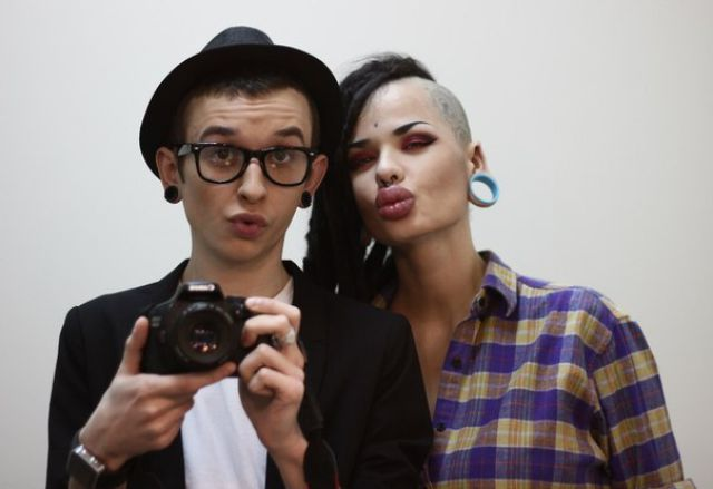 New Photos of the Girl with the World's Largest Lips