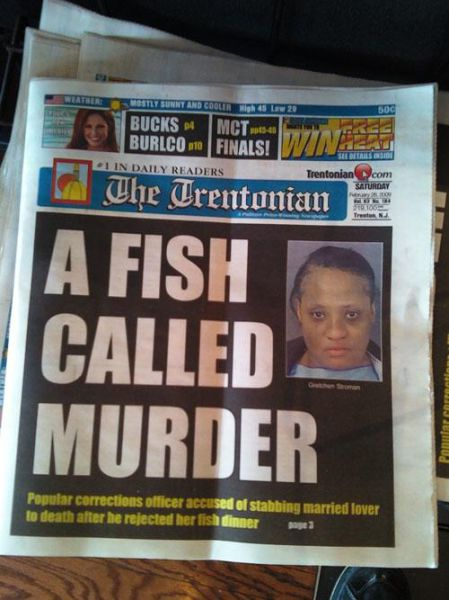 Odd and Amusing Newspaper Headlines