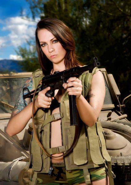 Weapon Wielding Wild Women