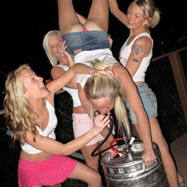Drunk Girl Alert!