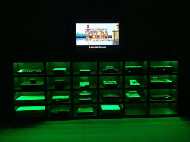 Homemade Video Game Cabinet That Is Just Too Cool for Words