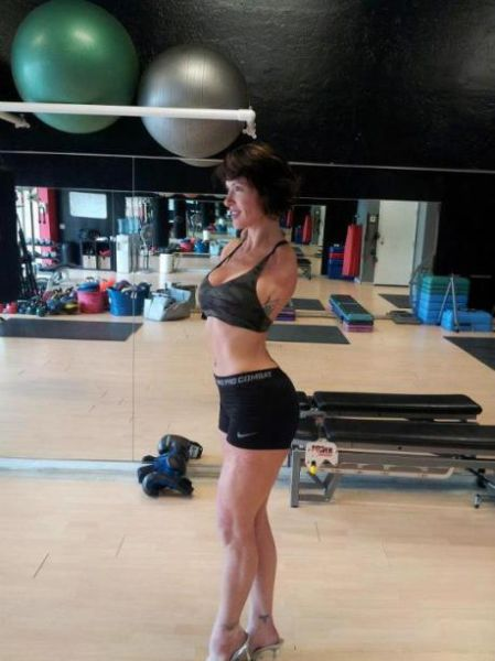 The Female Bodybuilder with a Will of Steel