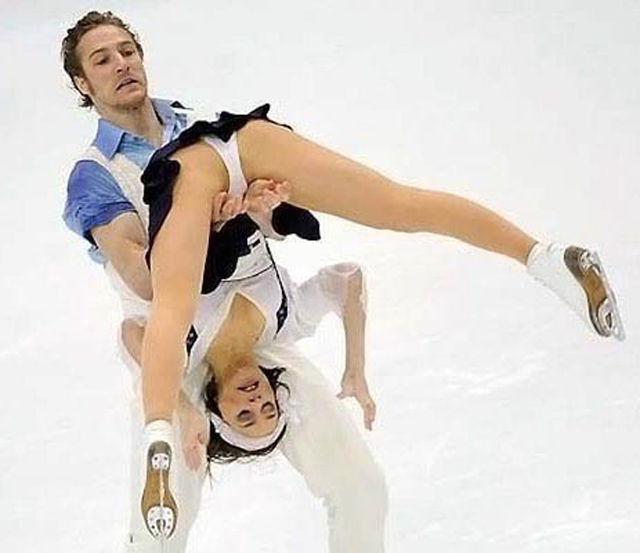 Odd Figure Skating Fails That Are Semi-Sexy