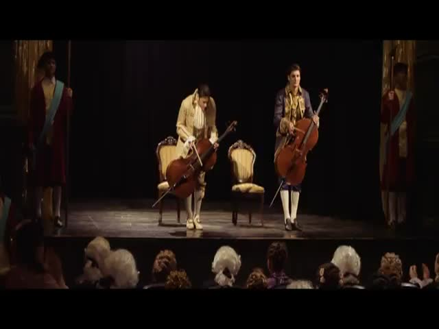 2 Guys Rock AC/DC's 'Thunderstruck' with Cellos  (VIDEO)