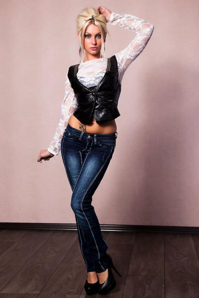 Hot Girls Rock Out with Their Denims On