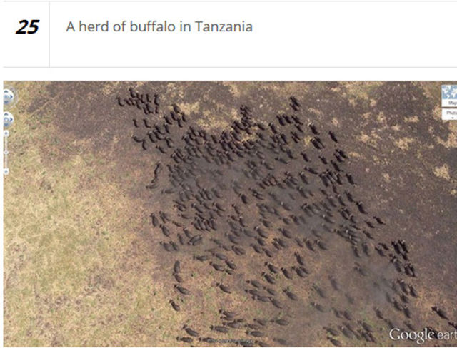 Google Earth Uncovers Many Unusual Things in the World