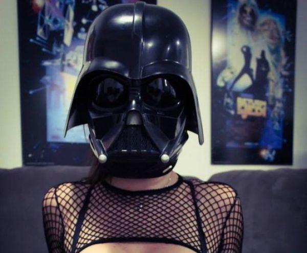 Darth Vader Cosplay That Is Smoking Hot