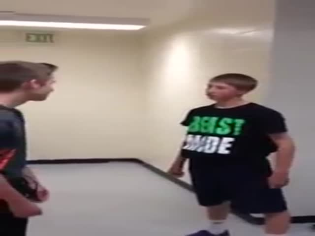 High School Boy Wants to Fight, Gets to Fight...