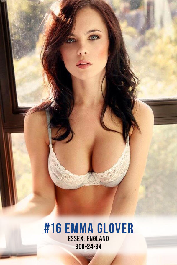 The Hottest English Glamour Models on the Internet