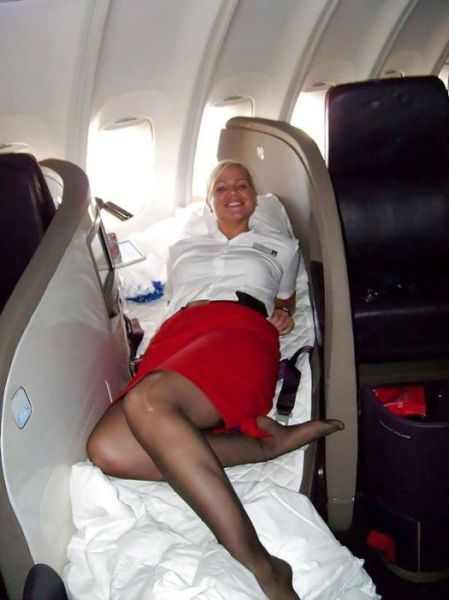 Flight Attendants Show Their Sultry and Sexy Sides