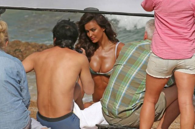 A Topless Irina Shayk Is A Sight for Sore Eyes