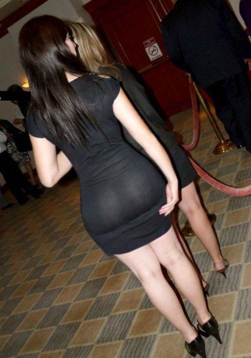 Ladies in See-Through Dresses