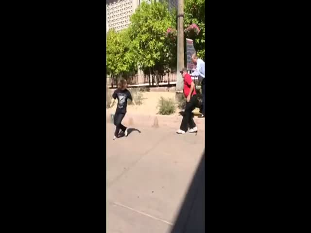 Religious Protesters vs Student on College Campus  (VIDEO)