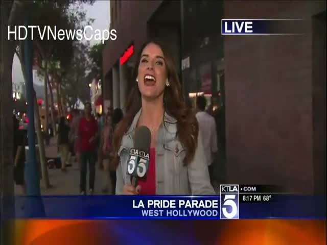 Funny News Blooper of the Day  (VIDEO)