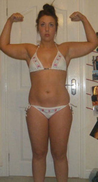 Chubby Girl Transforms Herself into Bikini Model