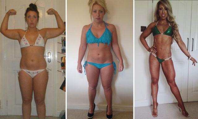 Chubby Girl Transforms Herself into Bikini Model