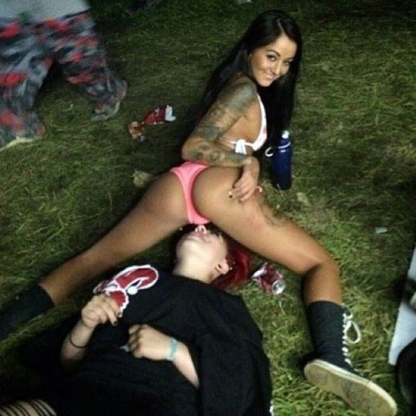 "Craziness and Debauchery at the ""Gathering of the Juggalos"" Festival"