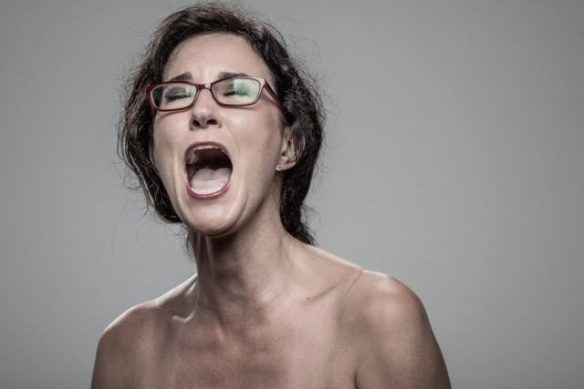 Artistic Portraits of People in Pain