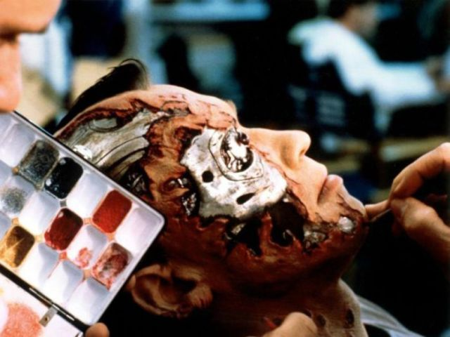"""Backstage Photos from the Making of the """"Terminator"""" Films"""