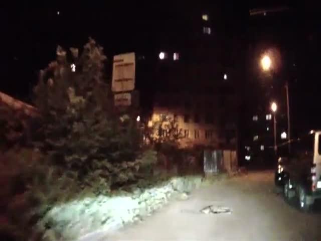 WTF Russian Dashcam Surprise  (VIDEO)