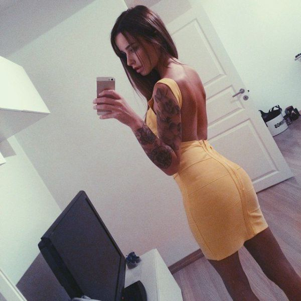 Tiny Tight Dresses are the Best